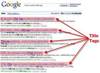 Các thẻ HTML cần tối ưu khi thiết kế website