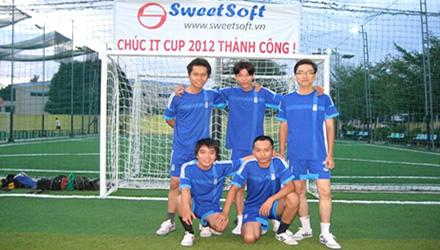 SweetSoft tham gia giải bóng đá IT Cup 2012