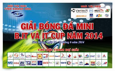 SWEETSOFT THAM GIA GIẢI BÓNG ĐÁ MINI TRUYỀN THỐNG HỘI TIN HỌC KHÁNH HÒA LẦN 6 - IT CUP 2014