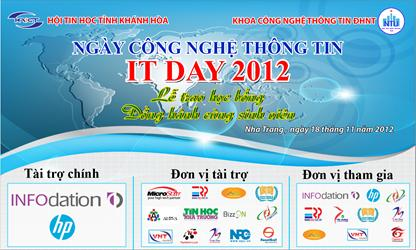 SweetSoft tham gia IT Day 2012
