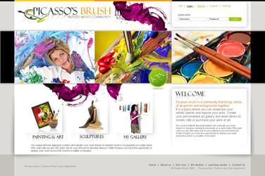Mỹ thuật trong Thiết kế website