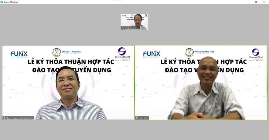 SweetSoft ký thỏa thuận hợp tác cùng FUNiX