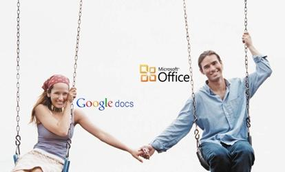 USING MICROSOFT OFFICE AND GOOGLE DOCS TOGETHER