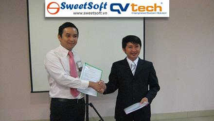SweetSoft phân phối và triển khai giải pháp phần mềm hỗ trợ quản lý bán hàng của QVTech
