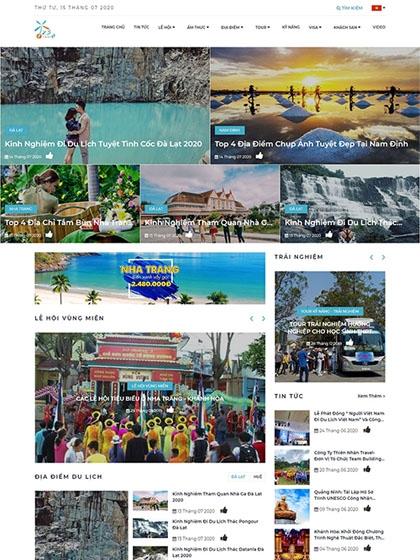 Website du lịch 123tadi