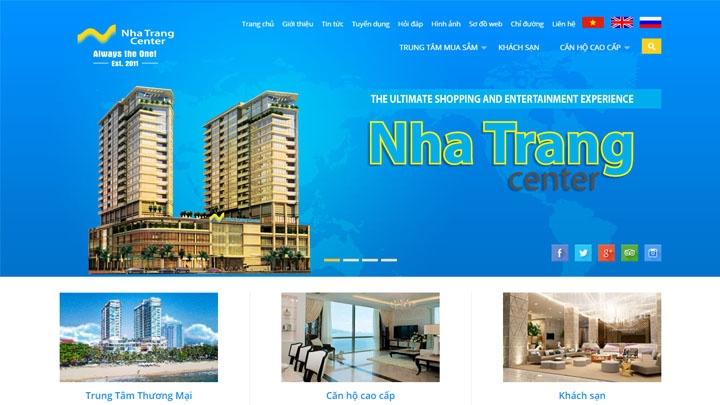 Website Nha Trang Center