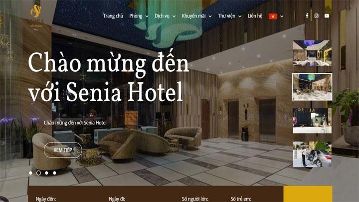 Website Senia Hotel