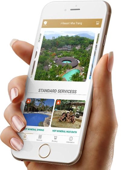 App khu du lịch Khoáng Nóng I-Resort Nha Trang