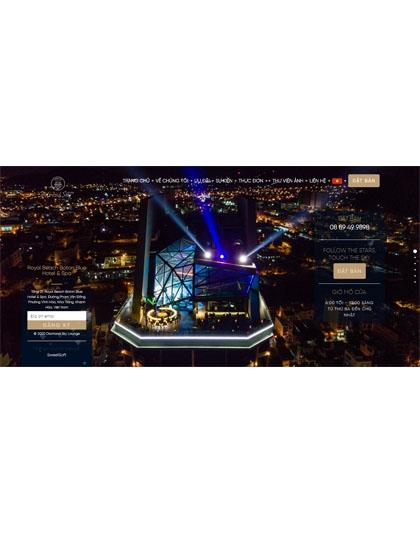 Website Diamond Sky Lounge