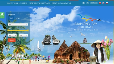WEBSITE CÔNG TY DIAMOND BAY HOLIDAYS