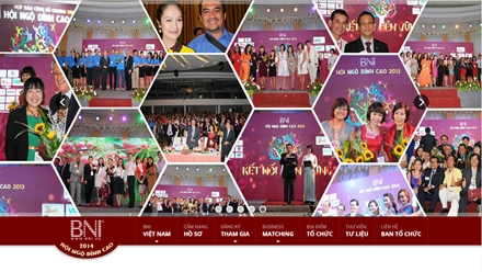WEBSITE BNI HỘI NGỘ ĐỈNH CAO 2014