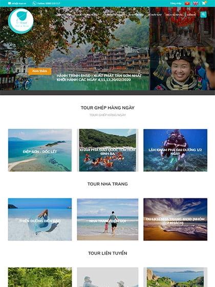 Công ty lữ hành du lịch I-Tour