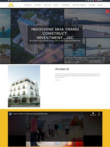 Website Indochine Nha Trang