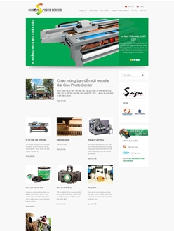 Website SaigonPhotoCenter