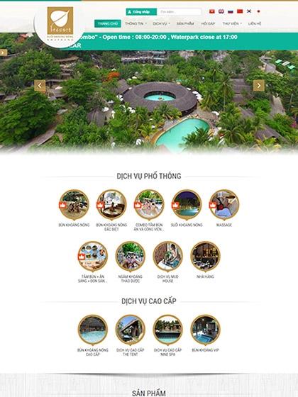 Khu du lịch Khoáng Nóng I-Resort Nha Trang