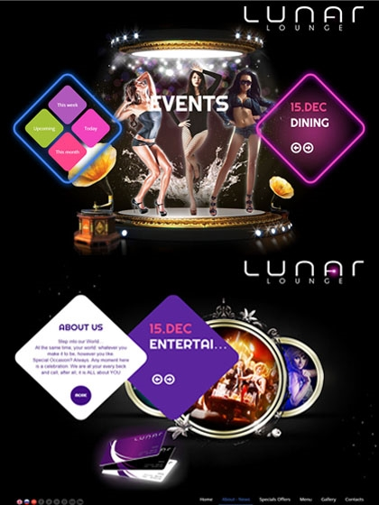 Website Lunar Lounge