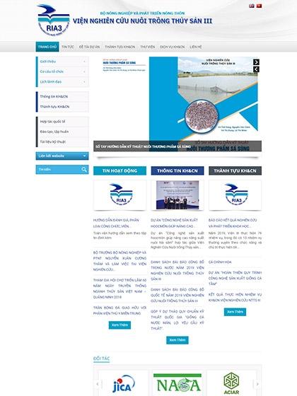 Viện nghiên cứu và nuôi trồng thủy sản 3