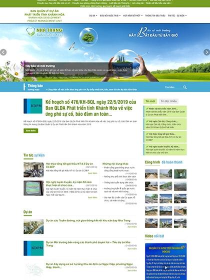 BQL dự án Phát triển tỉnh Khánh Hòa