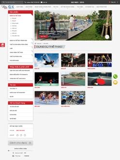 Website bán hàng thể thao trực tuyến Vifa-Sport
