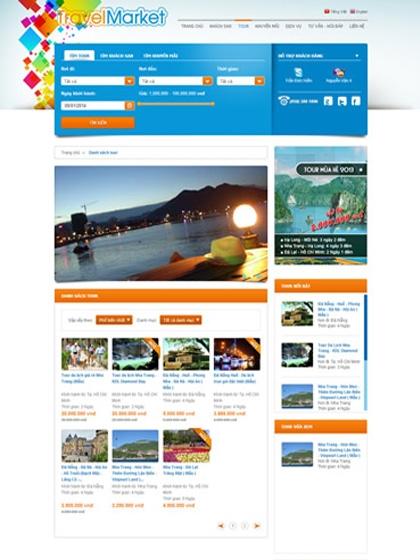 Website TravelMarket.com.vn