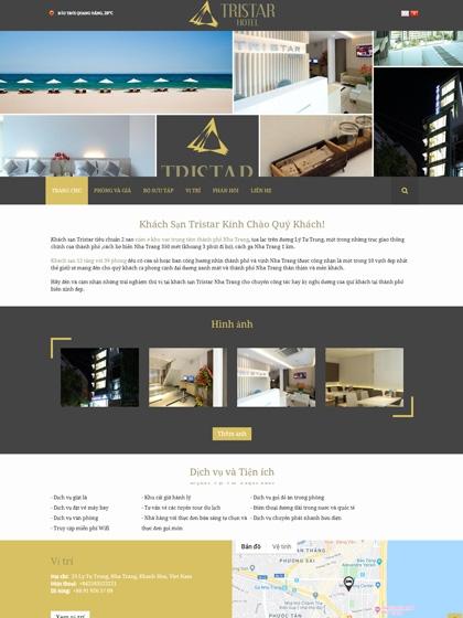 Website Tristar Hotel
