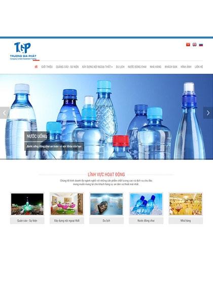 Website Công ty Trương Gia Phát