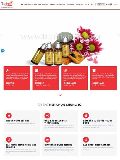 Website Đồ dùng phòng khách sạn