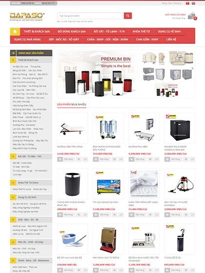 Website Công ty Tự Nhiên